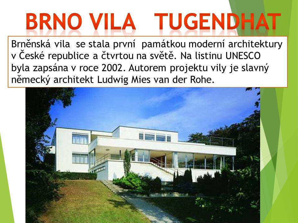 Brno Vila Tugendhat