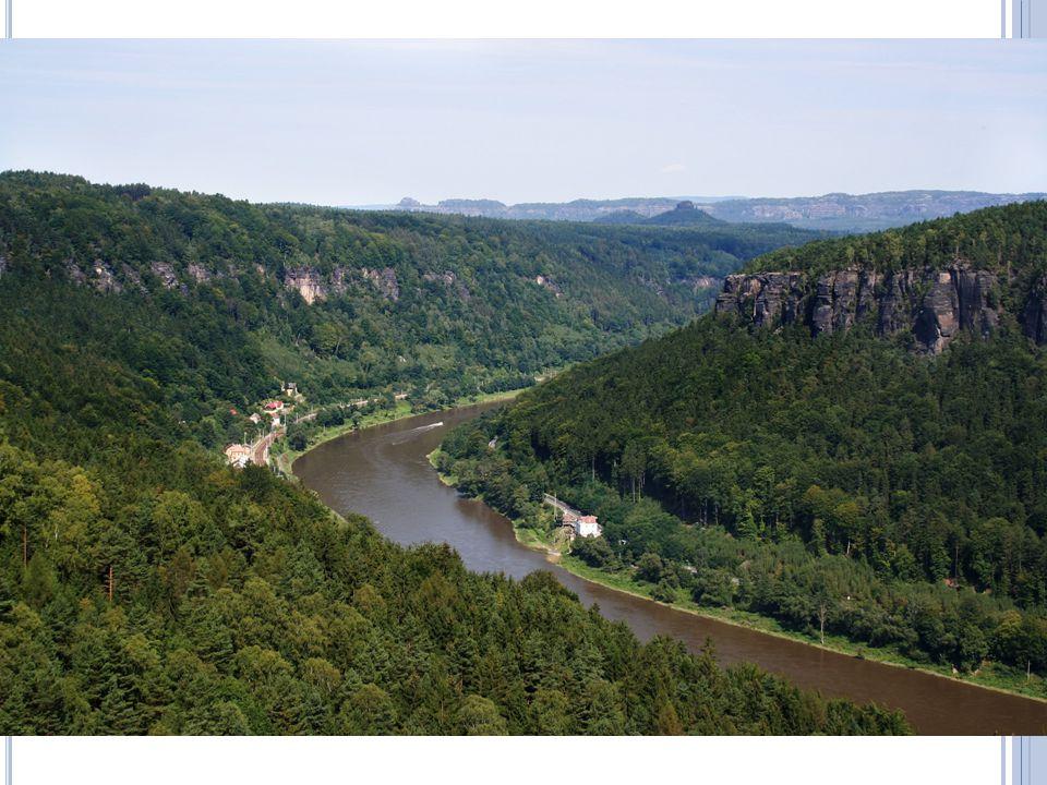 Řeky ČR Labe – odvádí vodu z ČR do Severního moře (66%)