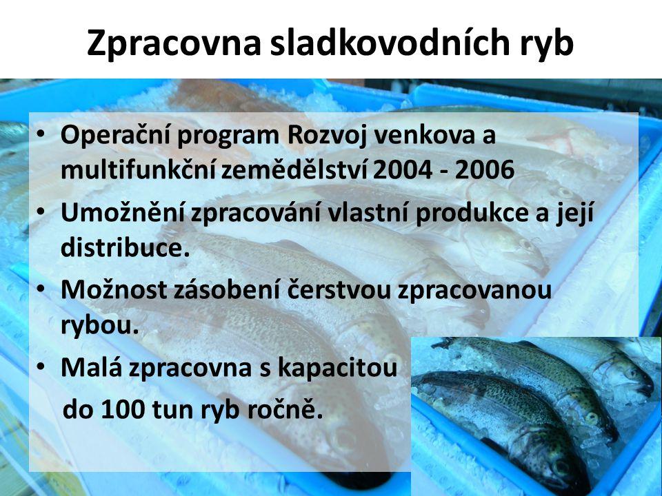Zpracovna sladkovodních ryb