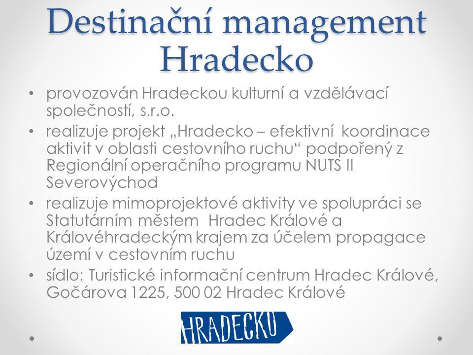 Destinační management Hradecko