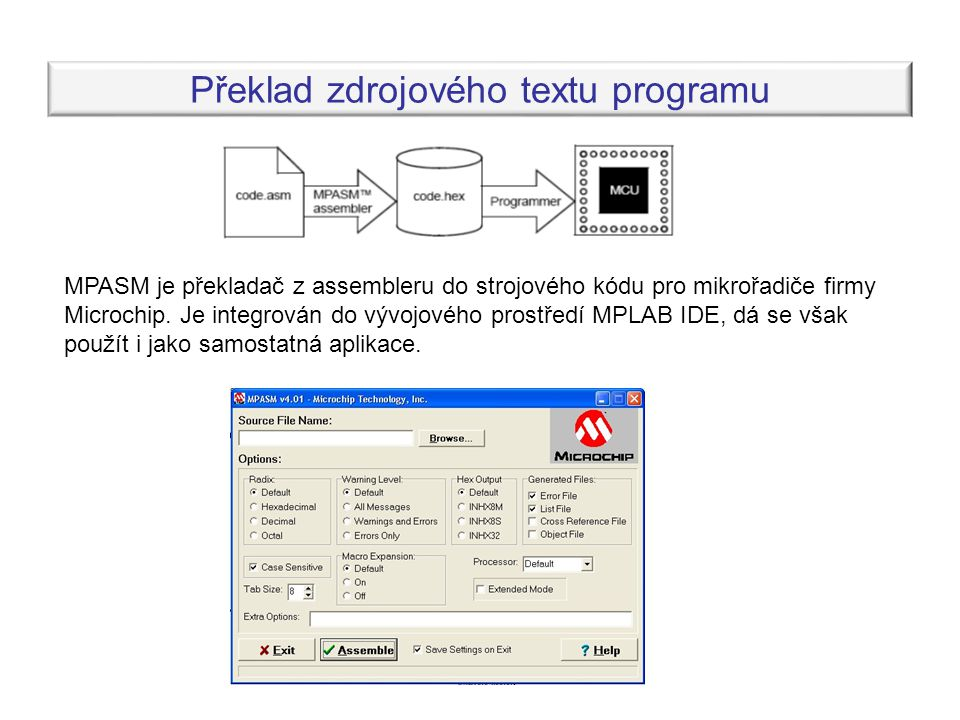 Překlad zdrojového textu programu