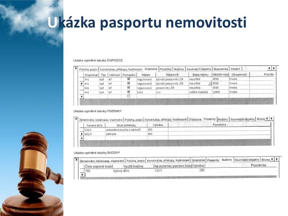 Ukázka pasportu nemovitosti