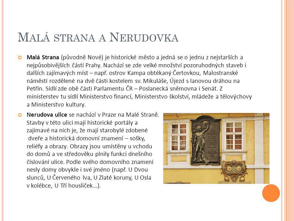 Malá strana a Nerudovka