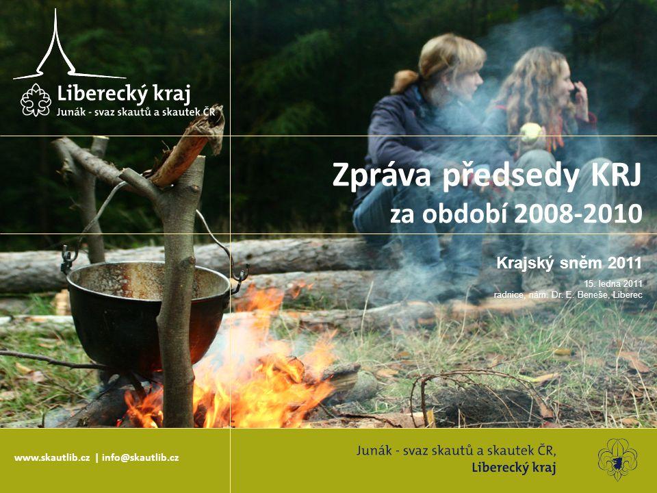 Zpráva předsedy KRJ za období 2008-2010