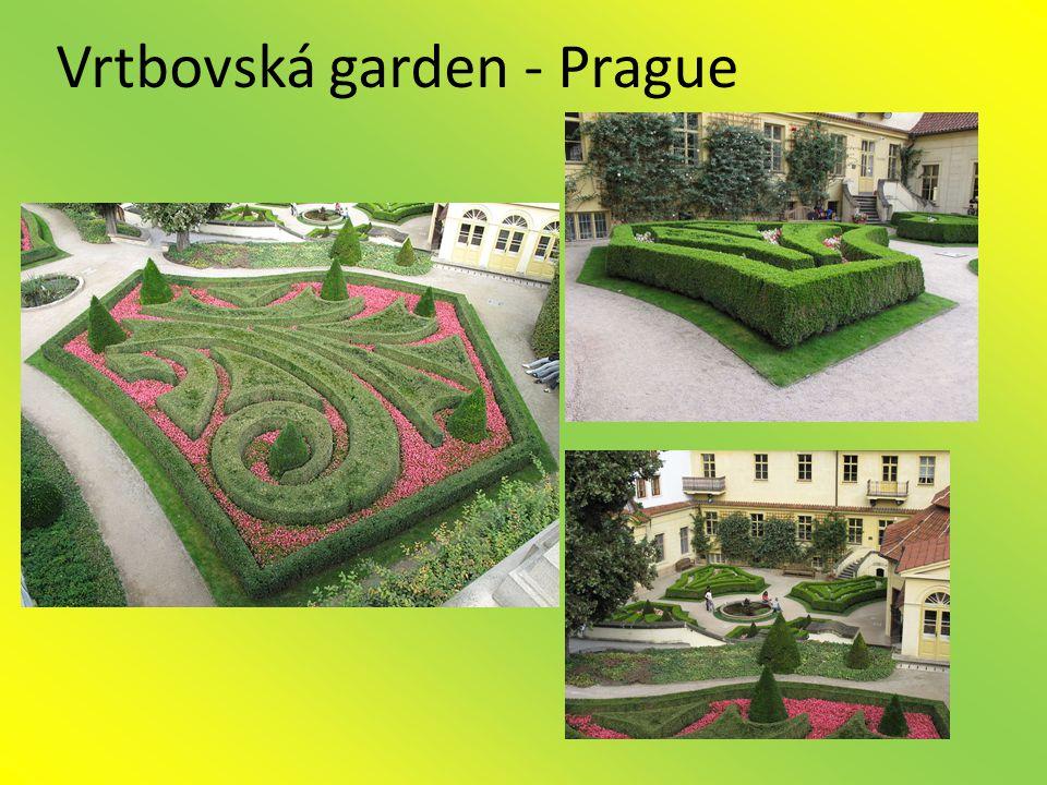 Vrtbovská garden - Prague
