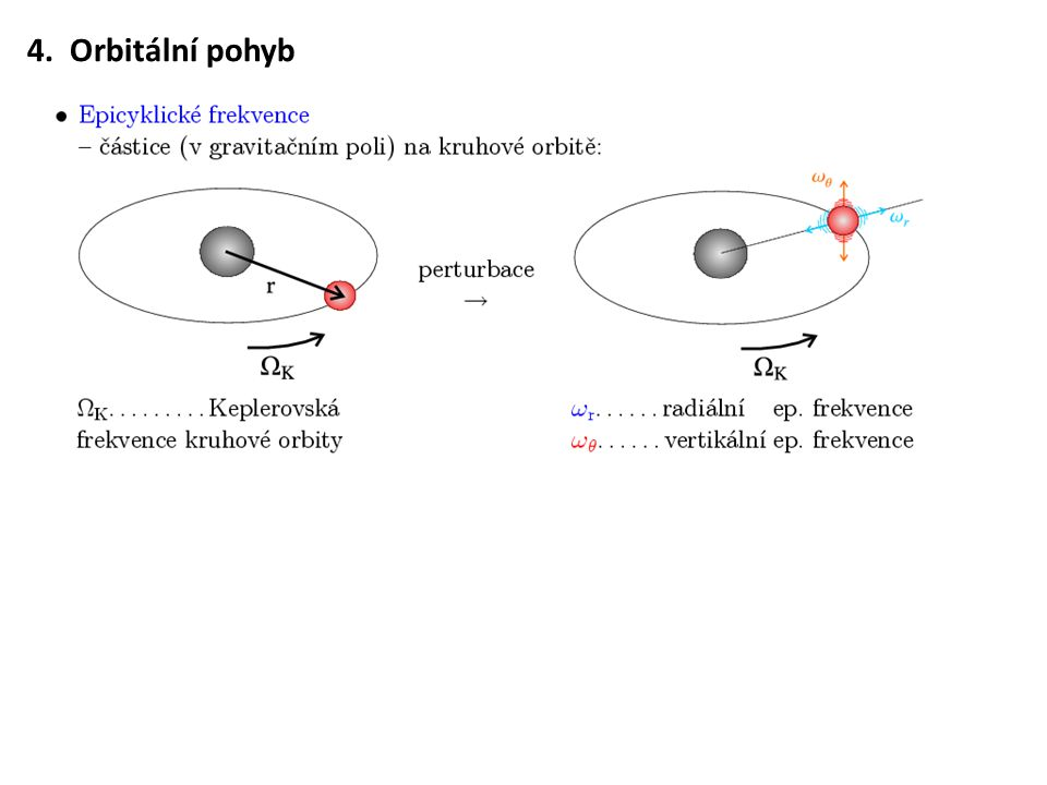 4. Orbitální pohyb