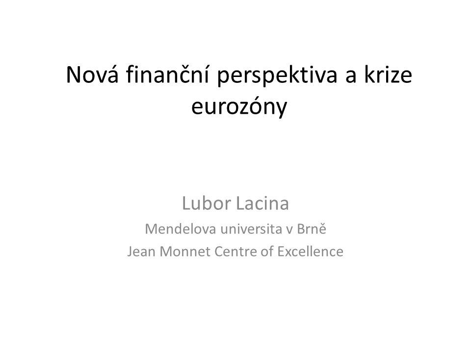 Nová finanční perspektiva a krize eurozóny