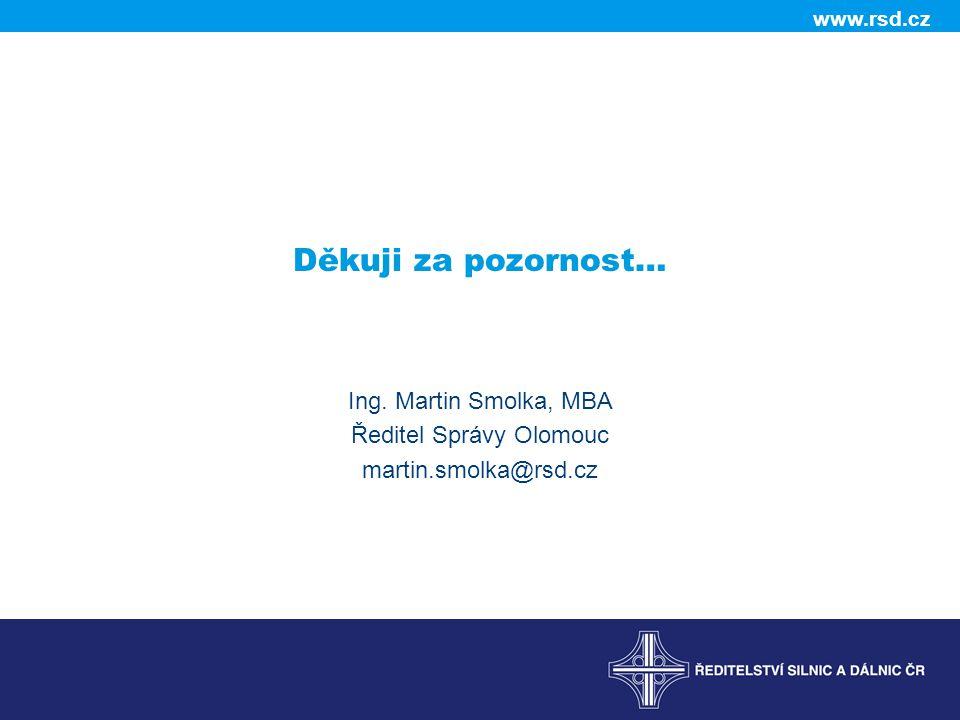 Ředitel Správy Olomouc