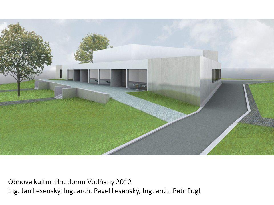 Obnova kulturního domu Vodňany 2012