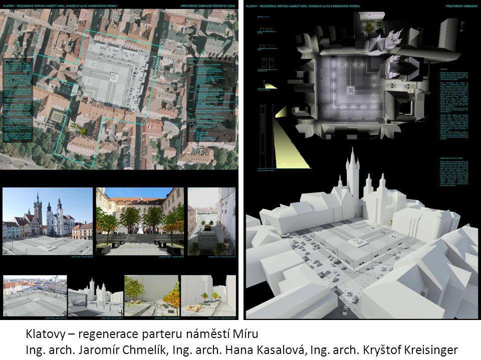 Klatovy – regenerace parteru náměstí Míru