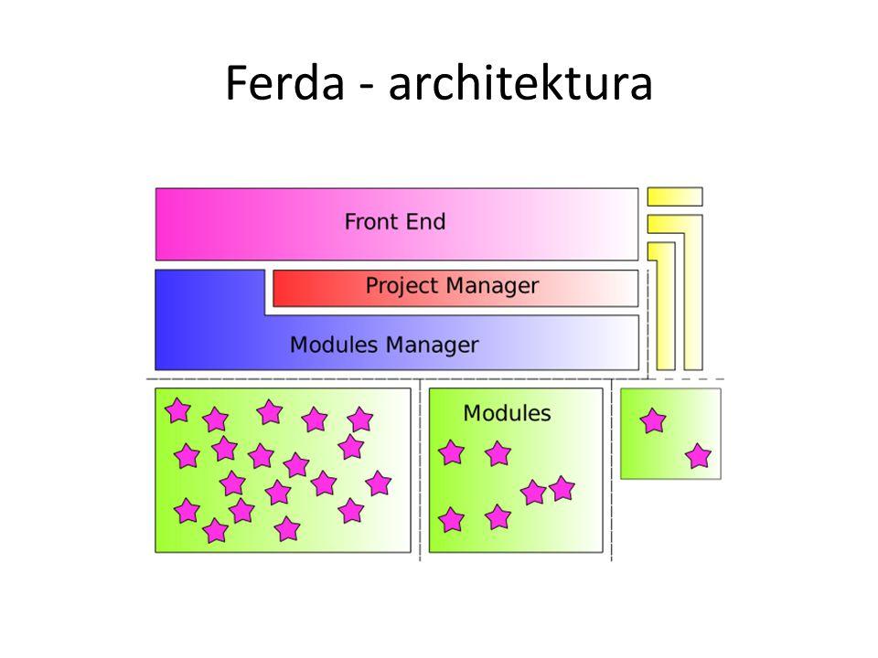 Ferda - architektura