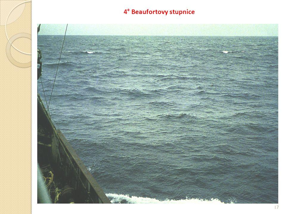 4° Beaufortovy stupnice