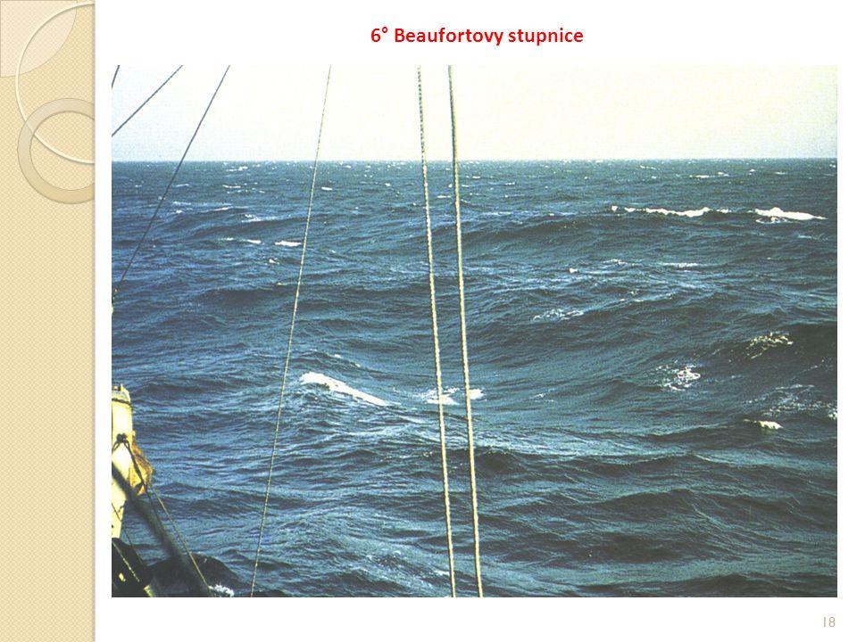 6° Beaufortovy stupnice