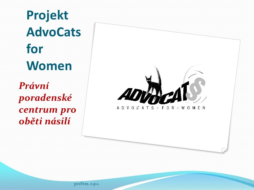 Projekt AdvoCats for Women