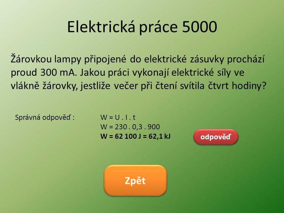 Elektrická práce 5000