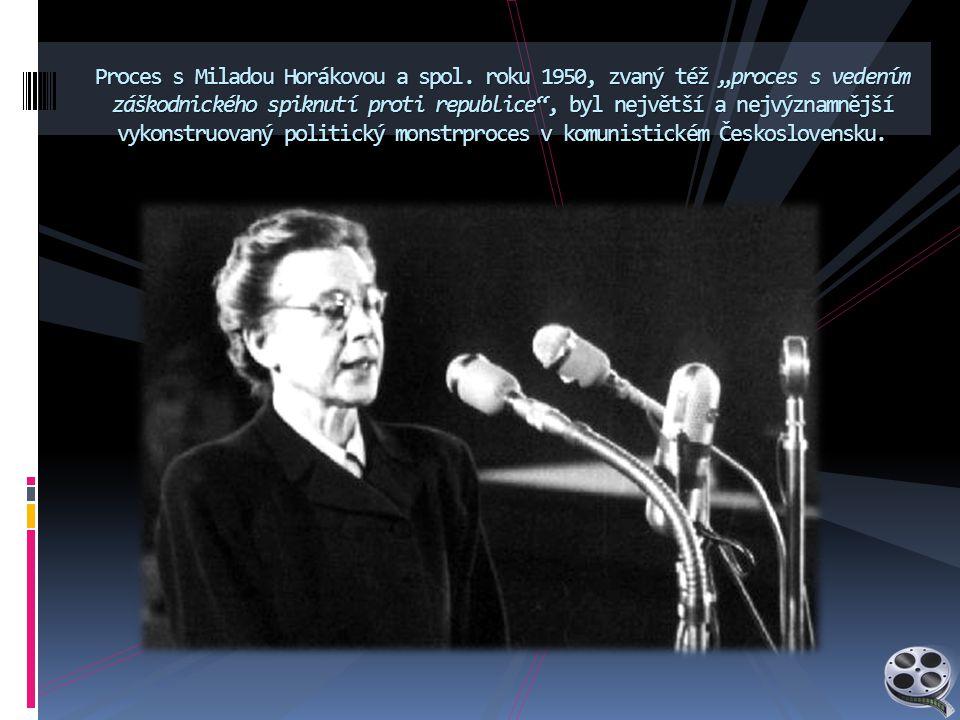 Proces s Miladou Horákovou a spol