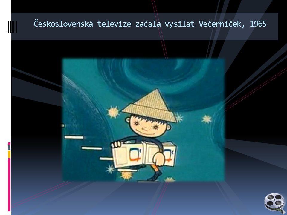 Československá televize začala vysílat Večerníček, 1965