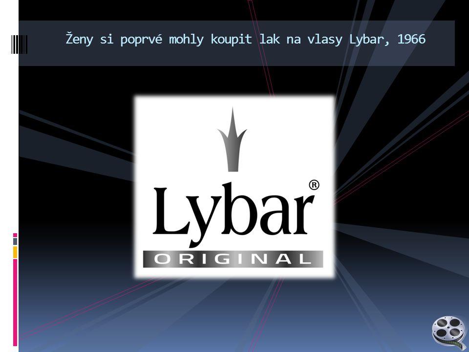 Ženy si poprvé mohly koupit lak na vlasy Lybar, 1966