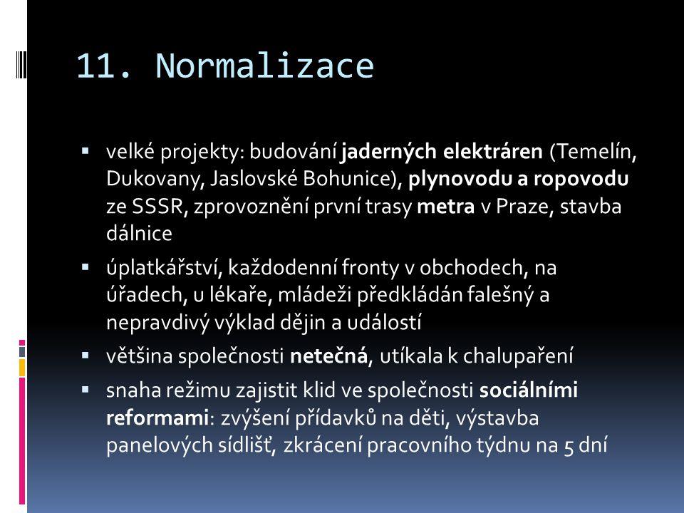 11. Normalizace