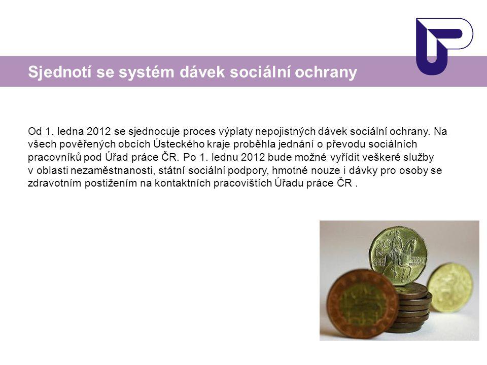 Sjednotí se systém dávek sociální ochrany