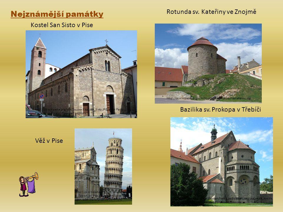 Nejznámější památky Rotunda sv. Kateřiny ve Znojmě