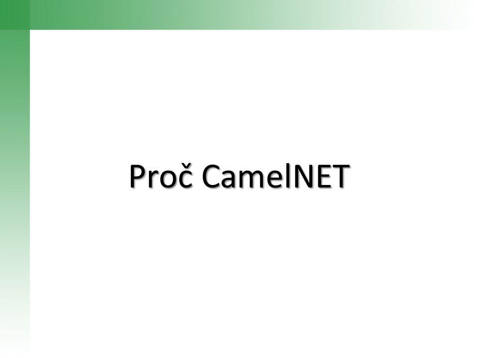 Proč CamelNET