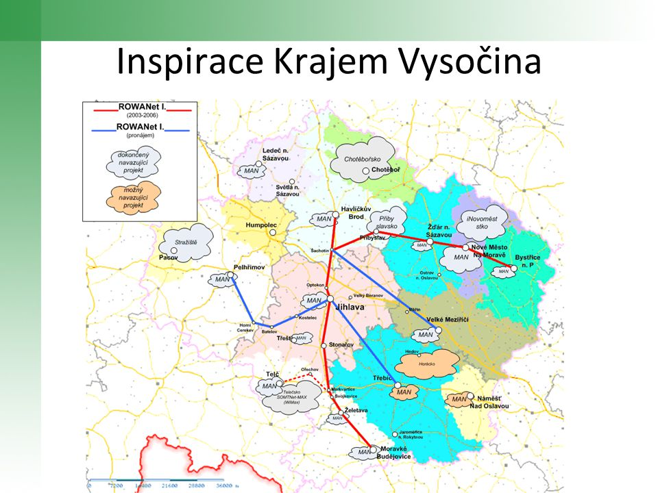 Inspirace Krajem Vysočina