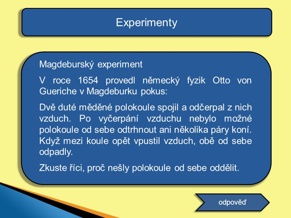 Experimenty Magdeburský experiment