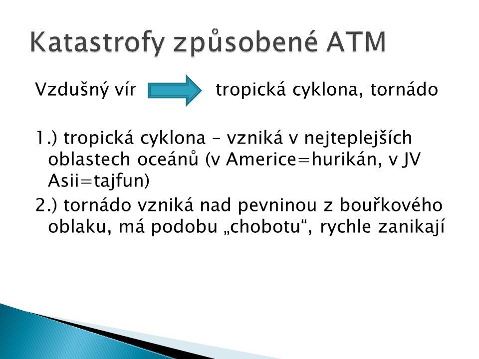 Katastrofy způsobené ATM