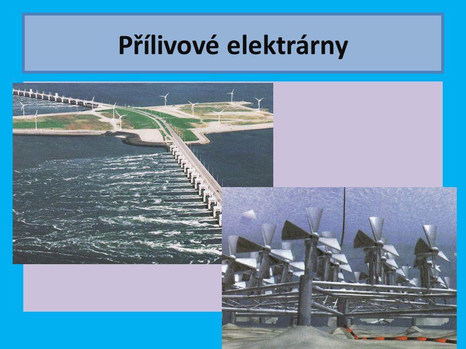 Přílivové elektrárny
