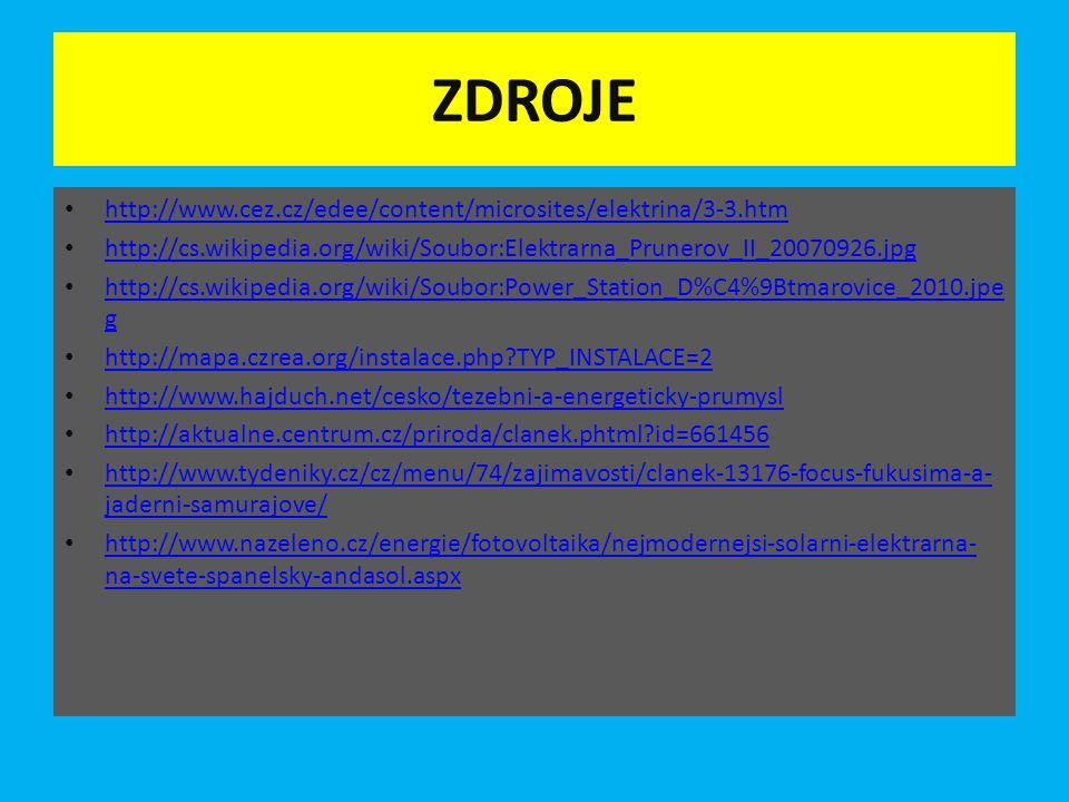 ZDROJE http://www.cez.cz/edee/content/microsites/elektrina/3-3.htm