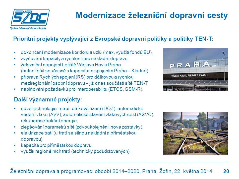 Modernizace železniční dopravní cesty