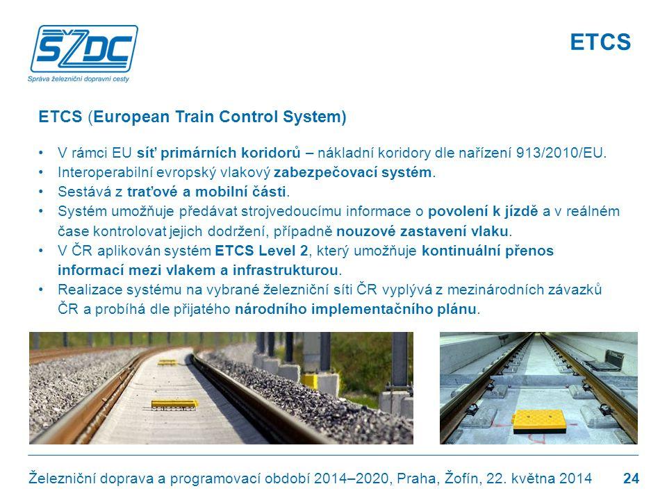 ETCS ETCS (European Train Control System)