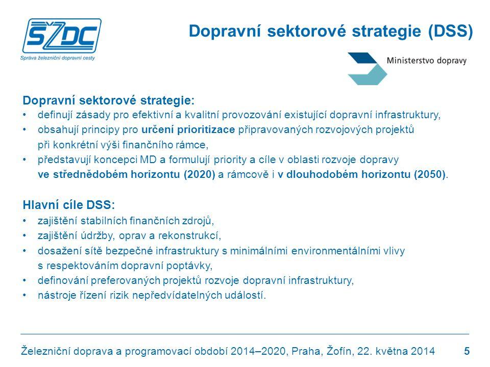 Dopravní sektorové strategie (DSS)