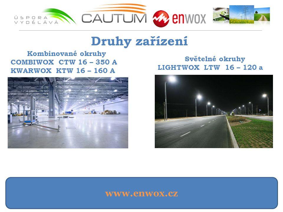 Druhy zařízení www.enwox.cz Kombinované okruhy COMBIWOX CTW 16 – 350 A