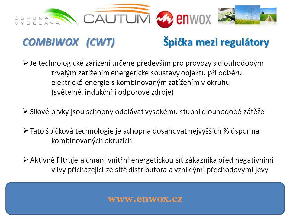 COMBIWOX (CWT) Špička mezi regulátory