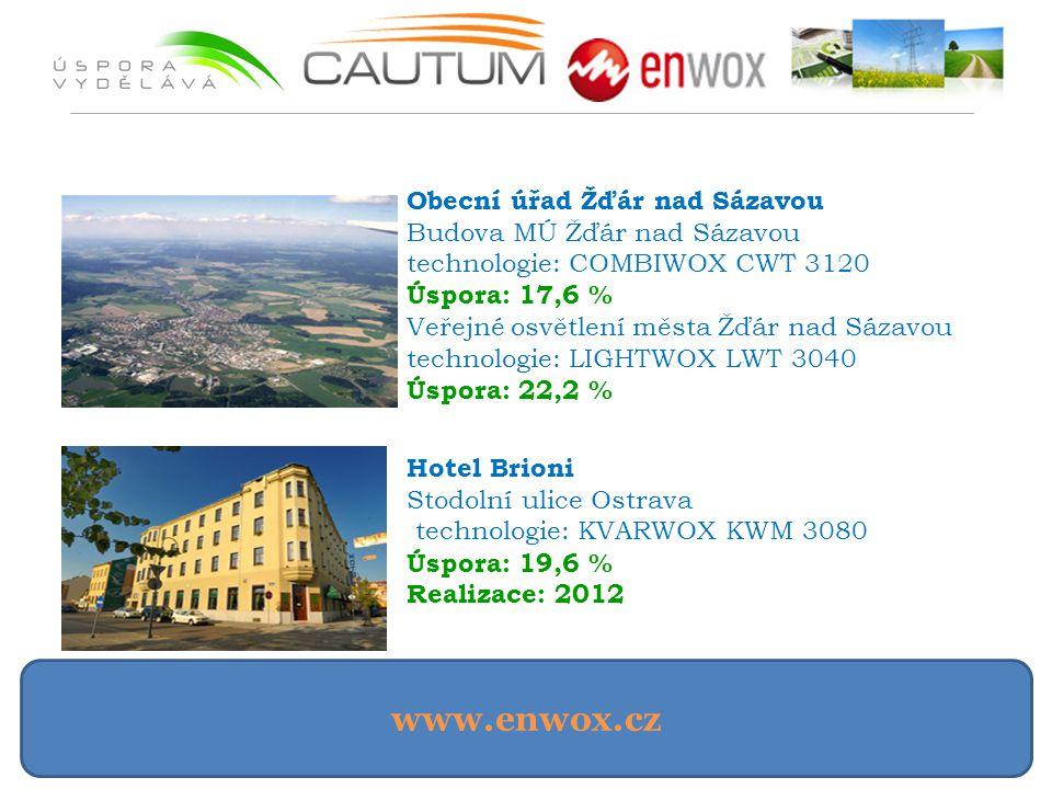 www.enwox.cz Obecní úřad Žďár nad Sázavou