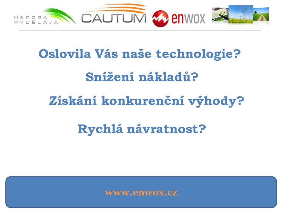 Oslovila Vás naše technologie Získání konkurenční výhody