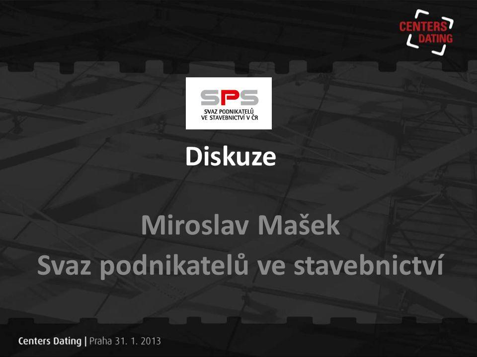 Miroslav Mašek Svaz podnikatelů ve stavebnictví