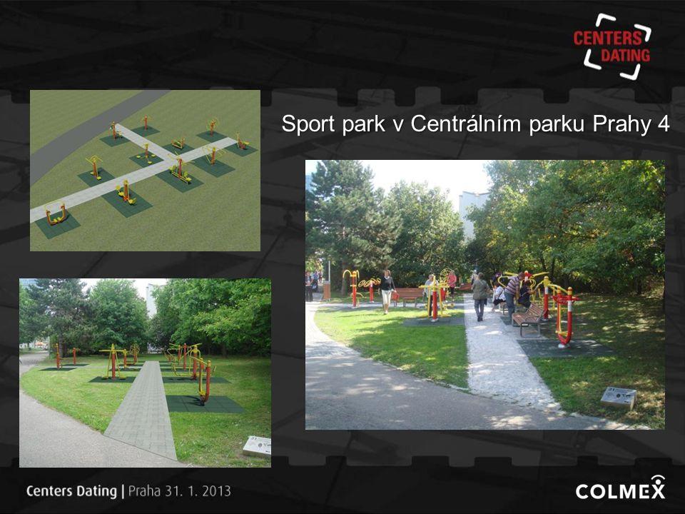 Sport park v Centrálním parku Prahy 4