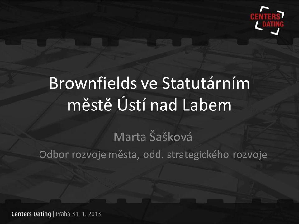 Brownfields ve Statutárním městě Ústí nad Labem