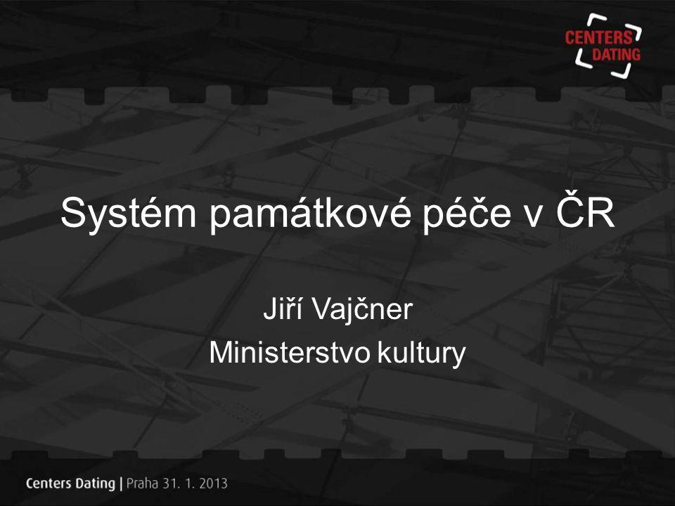 Systém památkové péče v ČR