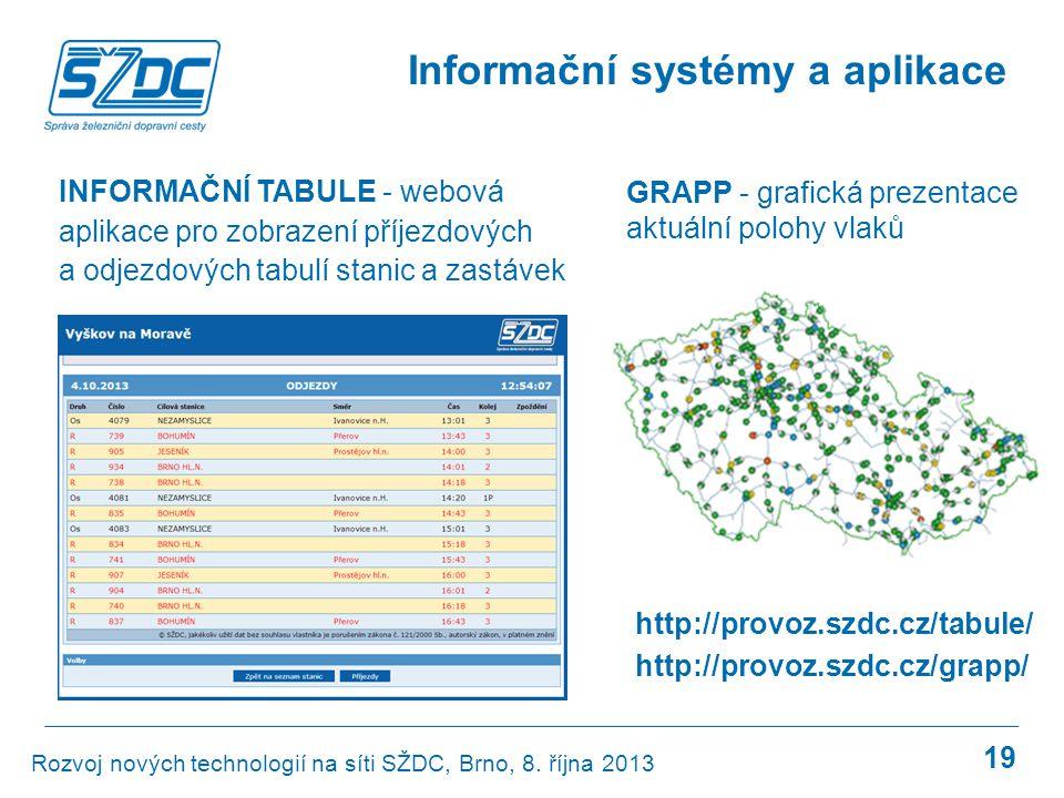 Informační systémy a aplikace