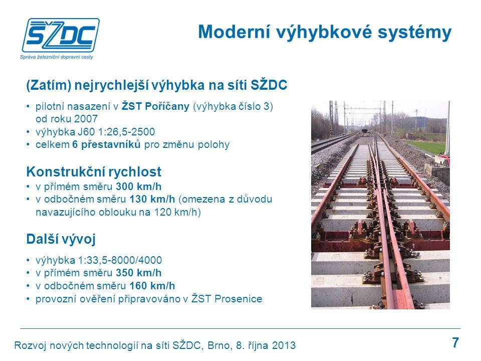 Moderní výhybkové systémy