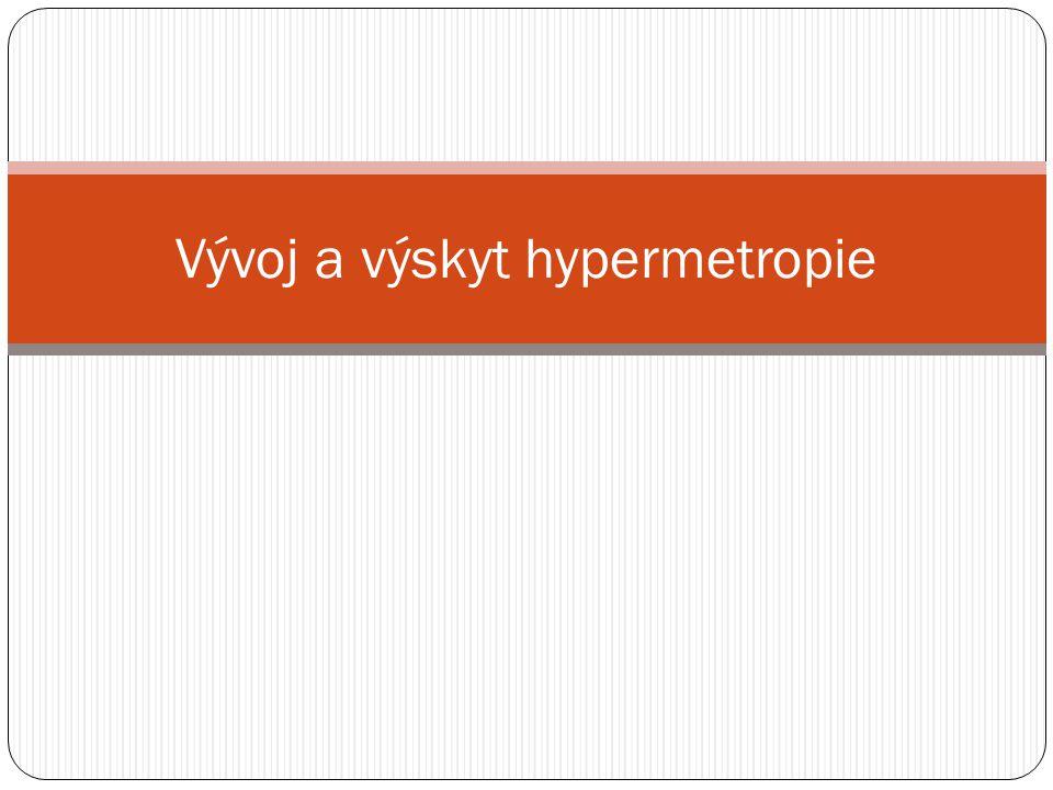 Vývoj a výskyt hypermetropie