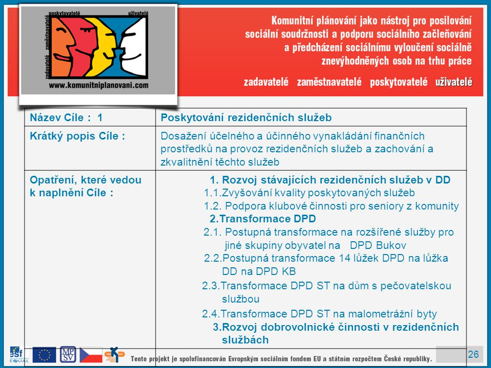 2.3.Transformace DPD ST na dům s pečovatelskou