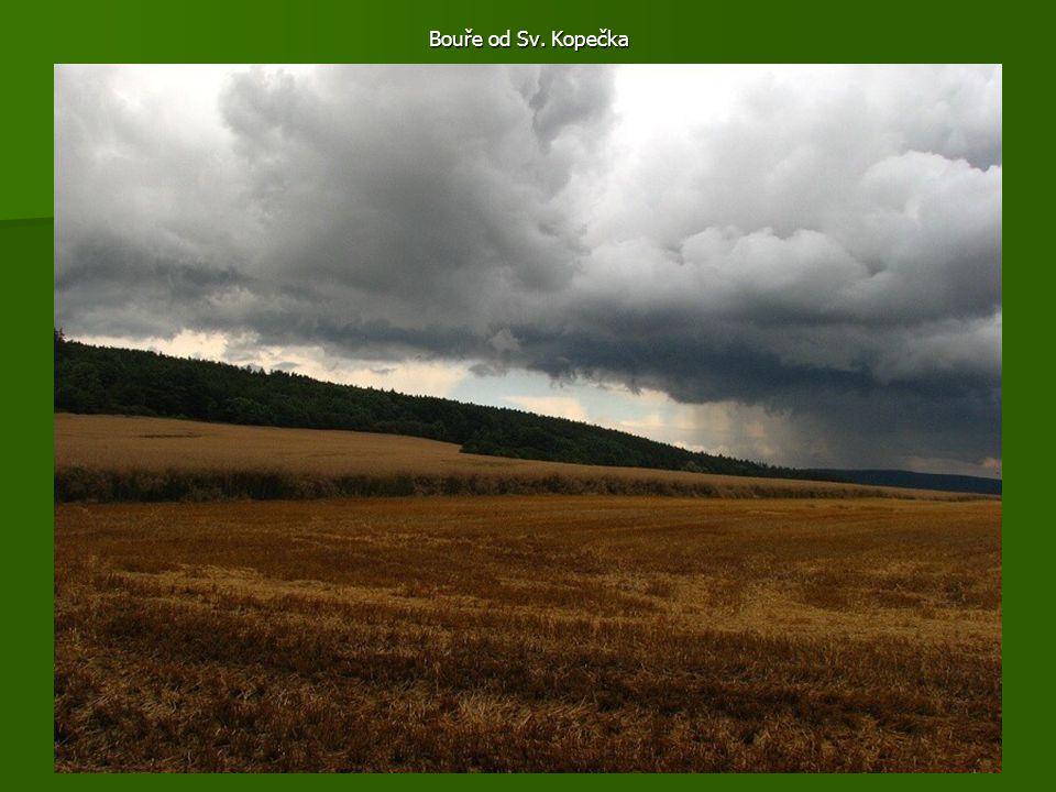 Bouře od Sv. Kopečka