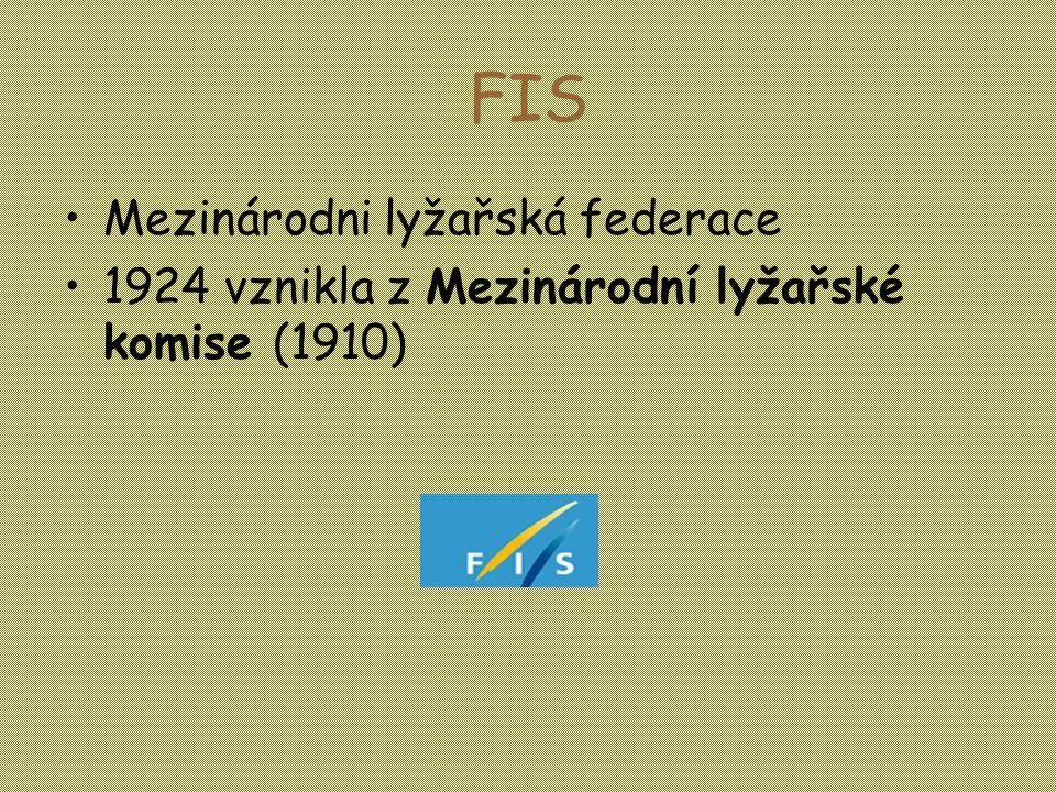 FIS Mezinárodni lyžařská federace
