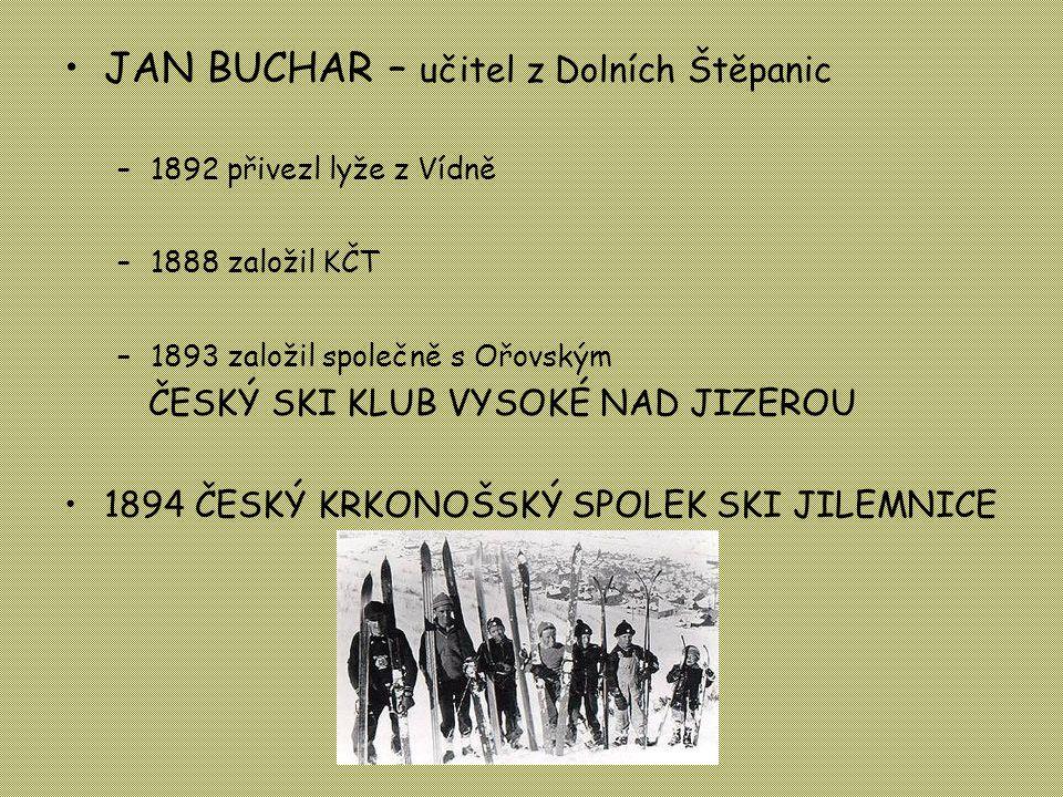 JAN BUCHAR – učitel z Dolních Štěpanic
