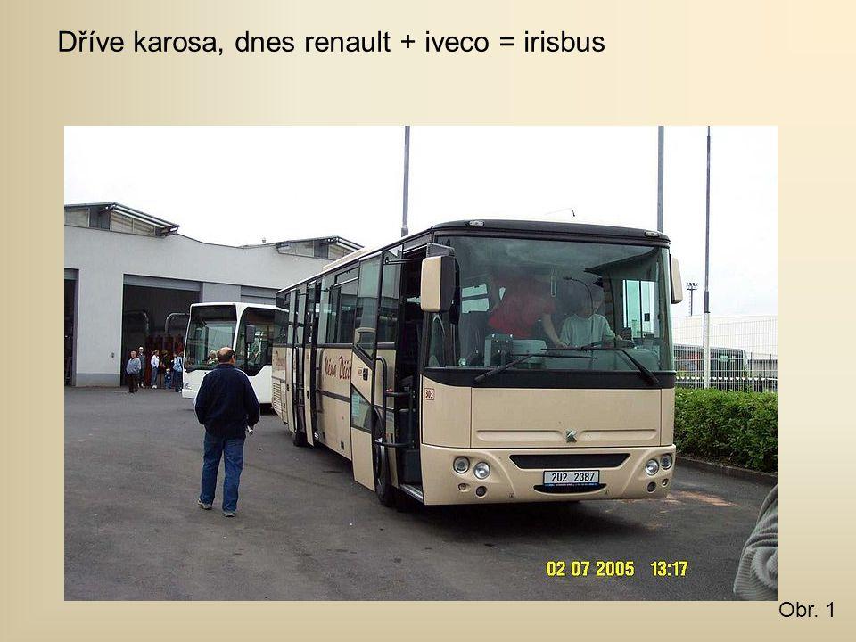 Dříve karosa, dnes renault + iveco = irisbus